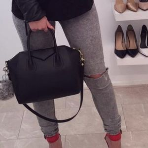 Mini Genuine Leather Purse Handbag